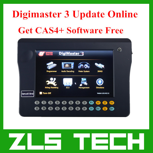Yanhua Digimaster III Digimaster 3 Odometer Correction Master with 200 Tokens For Free Update Online Get CAS4+ Software Free(China (Mainland))