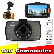 "Dash Cam Full HD 1080P 2.7"" Car Dvrs G30 Novatek 96220 Car Camera Recorder With Motion Detection Night Vision G-Sensor Car Dvr(China (Mainland))"