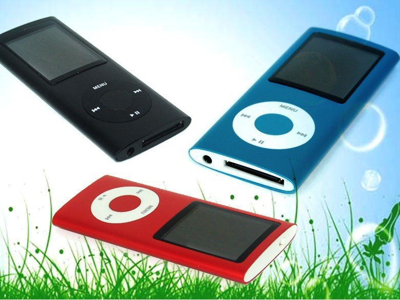 Drop Shipping Best Gift 4th Gen MP4 Player 1.8'' Video Radio FM MP3 MP4 9 COLORS Free Shipping(China (Mainland))