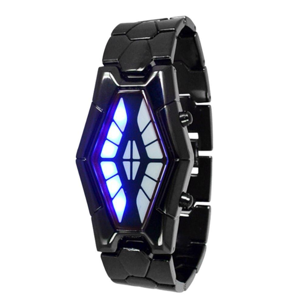 Wrist Watch Black Snake