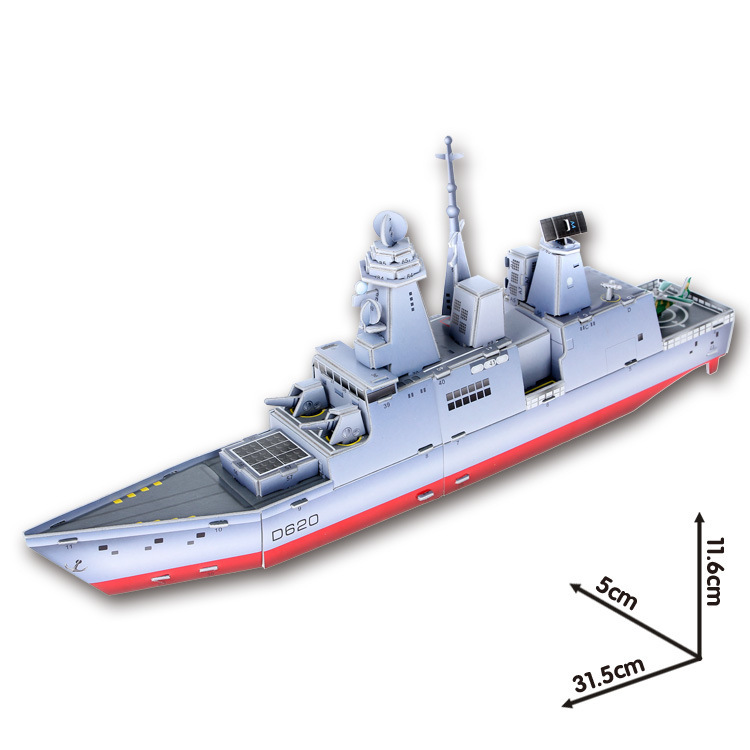 3D Jigsaw Puzzles DIY Ship Paper Model Kids Creative Gift Children Educational Toys Free Shipping(China (Mainland))