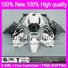 Buy Fairing For HONDA Black CBR600F2 CBR 600F2 91 92 93 94 18B50 CBR600RR 91-94 Black white CBR600 F2 1991 9992 1993 1994 +decal for $415.00 in AliExpress store