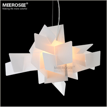 Modern Irregular Foscarini Big Bang pendant Lighting Fixture Art suspension Lamp drop White Red color lamp for Dining room(China (Mainland))