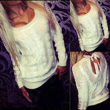 Womens Sweaters Fashion 2015 Autumn Winter Knitting Sweter Cashmere Mujer Dresses Sueter Women Pullovers Tops White(China (Mainland))