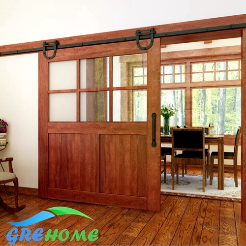 Aliexpress.com : Buy 4.9FT/6FT/6.6FT Carbon steel sliding barn doors ...