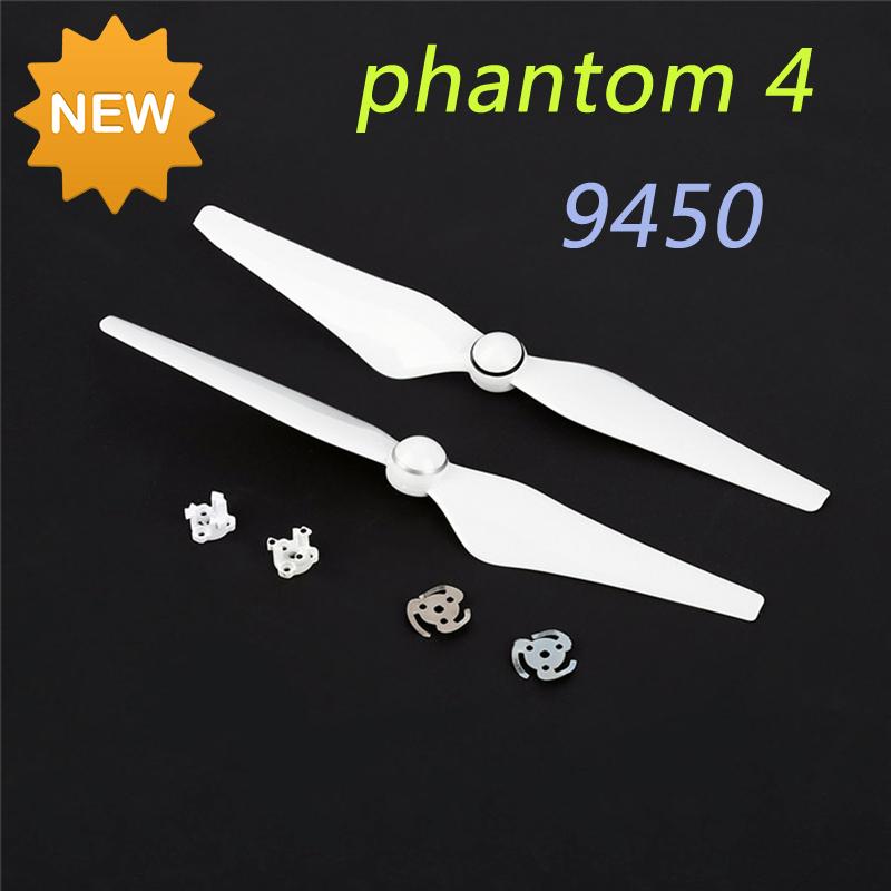 2 pairs DJI Phantom 4 Propellers Blade Phantom 4 Spare Parts 9450 9450S Self-tightening Propellers Prop Props(China (Mainland))