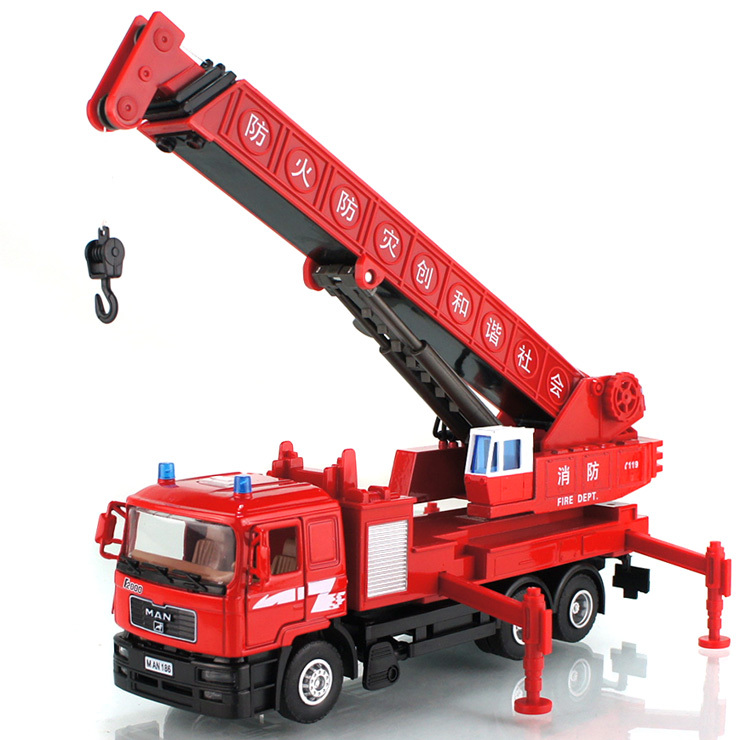 2015 2014 designer child car models crane models with telescopic boom child metal toys for fun free shipping(China (Mainland))