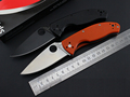 spyderco C122 Folding Knives 8cr13mov with G10 Handle EDC Gear Combat Knives Tactical Camping Survival Knives