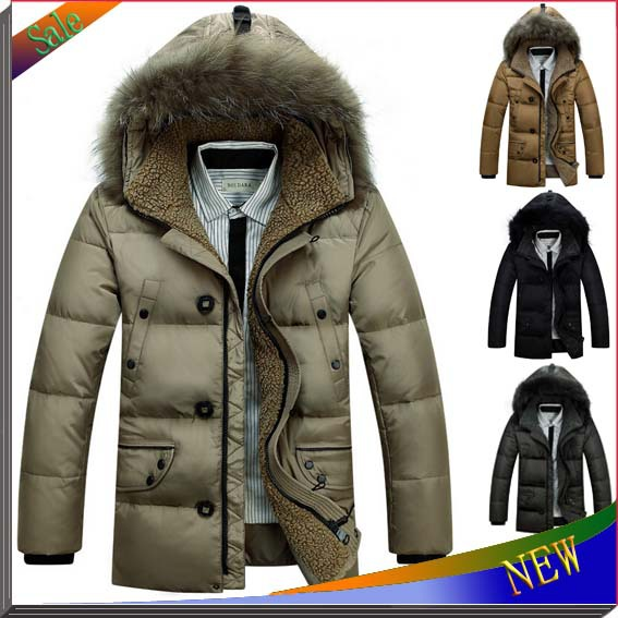 New Brand Warm Winter Jacket Men Coat Thicken Outerwear The North Hoodie Jacket Outdoors Men's Parka Coat Hoody Duck Down Jacket(China (Mainland))