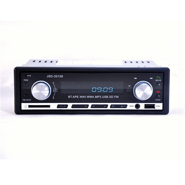 New 12V BLUETOOTH 1 Din Stereo Radio MP3 USB SD AUX Audio Player Car in Dash