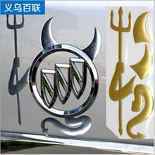 10 pcs/lot Car Styling VW Accessories Funny Sticker 3D Stickers Ford Focus 2 volkswagen mazda 3d - ABC SPEED CO store