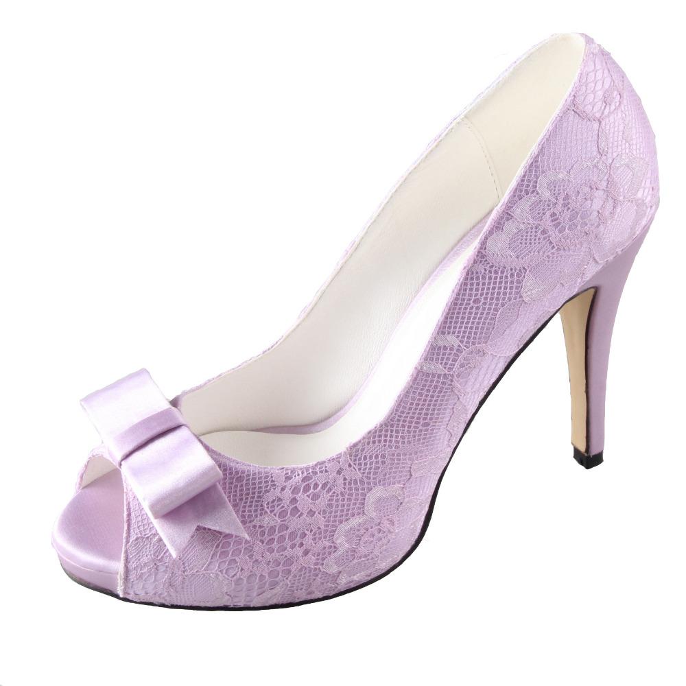 Light Purple Shoes High Heels