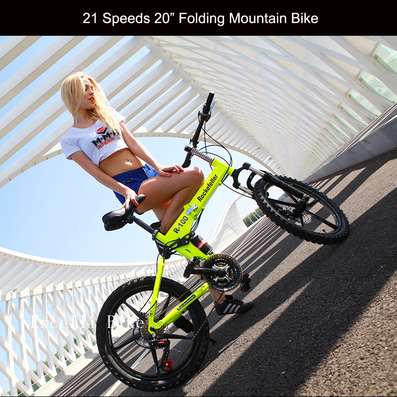 21 Speeds 20 or 26 Folding Bike Mini Bicicleta Plegable Mountain Bike 26 Mountain Bicycle City