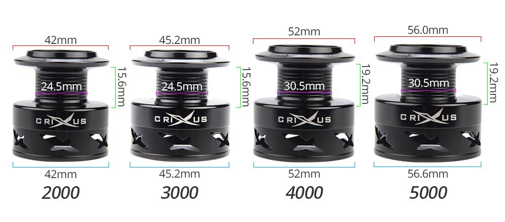 0 Crixus SP Spool Specs 1000x440