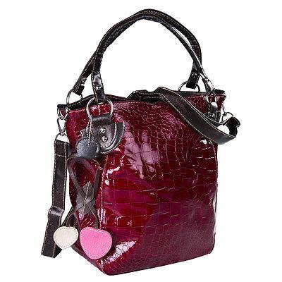 New Fashion Women Handbag Satchel patent leather tote shoulder bag(China (Mainland))