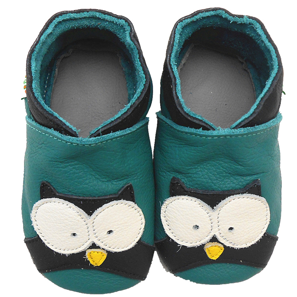 Sayoyo Baby Boy Shoes Boy Genuine Cow Leather Patten Soft Sole Toddler Infant New Born Baby Moccasin Pre-walker Free Shipping()