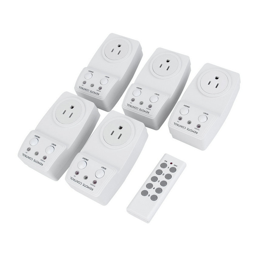 New Arrival 1 pc Universal TS-831-55 Pack Wireless Remote Control AC Power Outlet Plug Light Switch Socket Digital(China (Mainland))