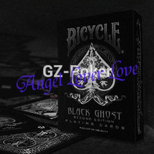 New Bicycle Black Ghost Deck