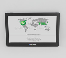 7 inch Car GPS Navigation with WinCE 6.0 system Resolution 800×480, 256MB, 8GB ROM, Free Maps