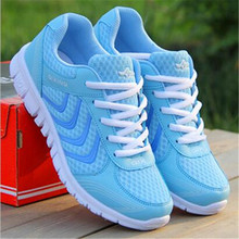 Hot Sale Mixed Colors Breathable Mesh Women Shoes 2016 Spring Summer New Comfortable Casual Shoes Flats Shoes free shipping