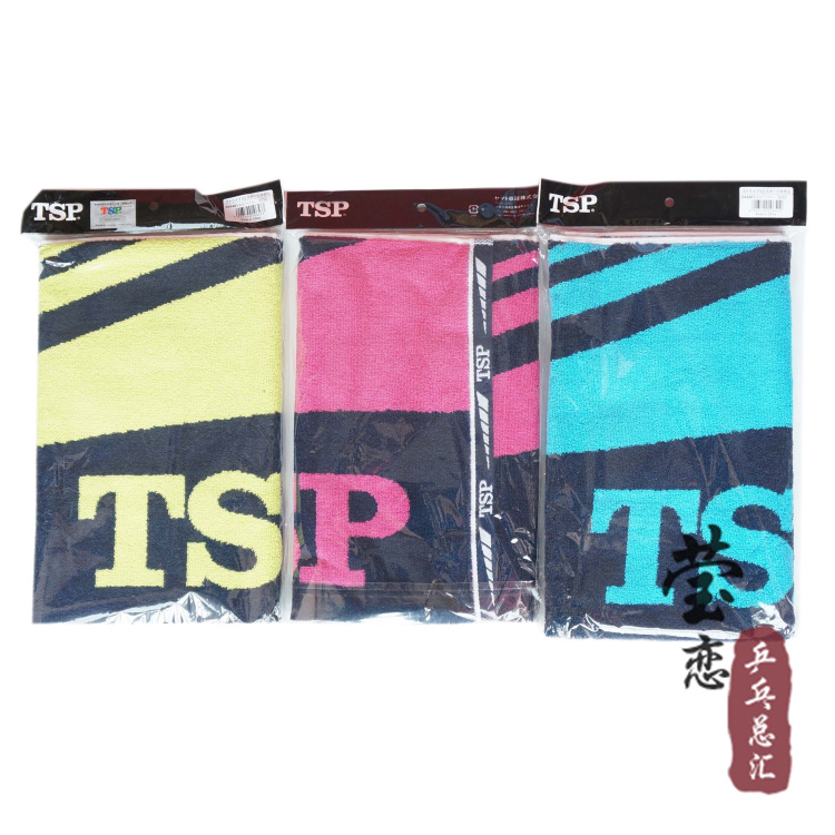 Original Tsp 044401 megacrystals and quality table tennis ball sports large cotton towel table tennis rackets racquet sprots(China (Mainland))