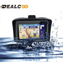 2016 Updated 256 RAM 8GB Flash 4.3 Inch Moto Navigator GPS Moto for Motorcycle Waterproof gps Navigation with FM Free Maps