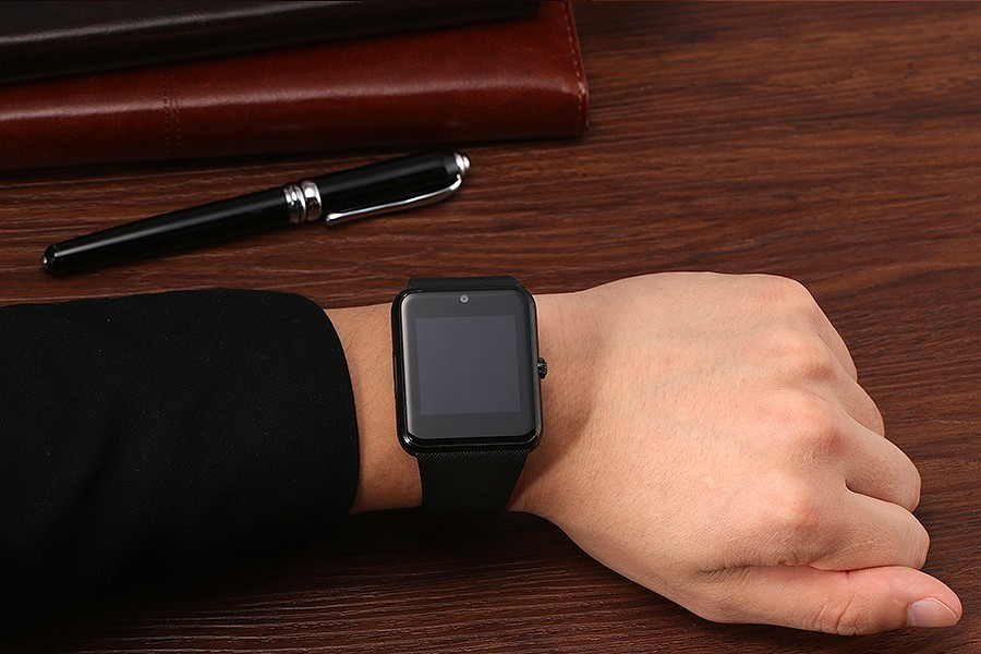 ถูก 2016สมาร์ทดูอุปกรณ์สวมใส่สนับสนุนซิมการ์ดTF GT08บลูทูธอเนกประสงค์สมาร์ทนาฬิกาข้อมือสำหรับแอปเปิ้ลAndroid OSโทรศัพท์