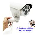 Full HD 1080P 960P Bullet AHD Camera 2MP 1 3MP 4X Optical Motorized Auto Zoom Lens