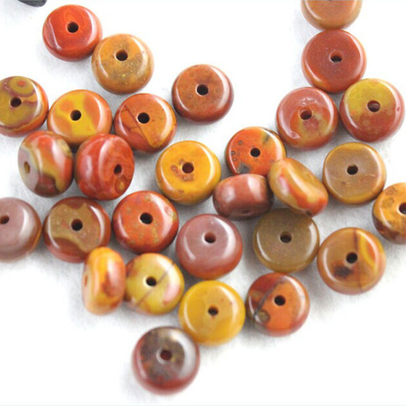 IB4240 Natural Red Agate septa beads Sard Onyx spacer discs beads 5*10mm 3pcs DIY handmade jewelry accessories(China (Mainland))