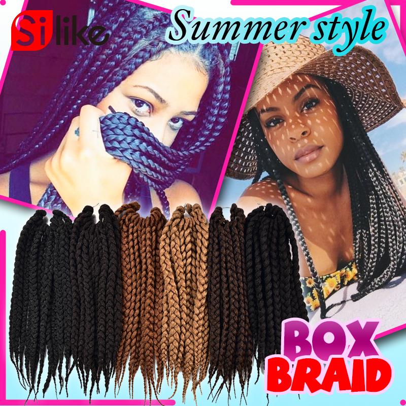 Box Braids Using Crochet Method : Crochet Braids Hair BOX Braids Hair Havana Mambo BOX Braid Styles 12 ...
