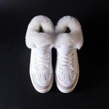 Prova Perfetto Khởi Động của Phụ Nữ 2018 Ấm Fur Tuyết Boots Nữ Ren lên Phẳng Giày Phụ Nữ Giản Dị Khởi Động Cô Gái Mùa Đông sneaker Giày(China)