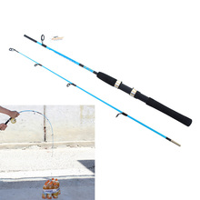 High Quality Portable 1.2M Telescopic Fishing Pole Fiber Reinforce Plastic Lure Rod Fishing Rod E#CH
