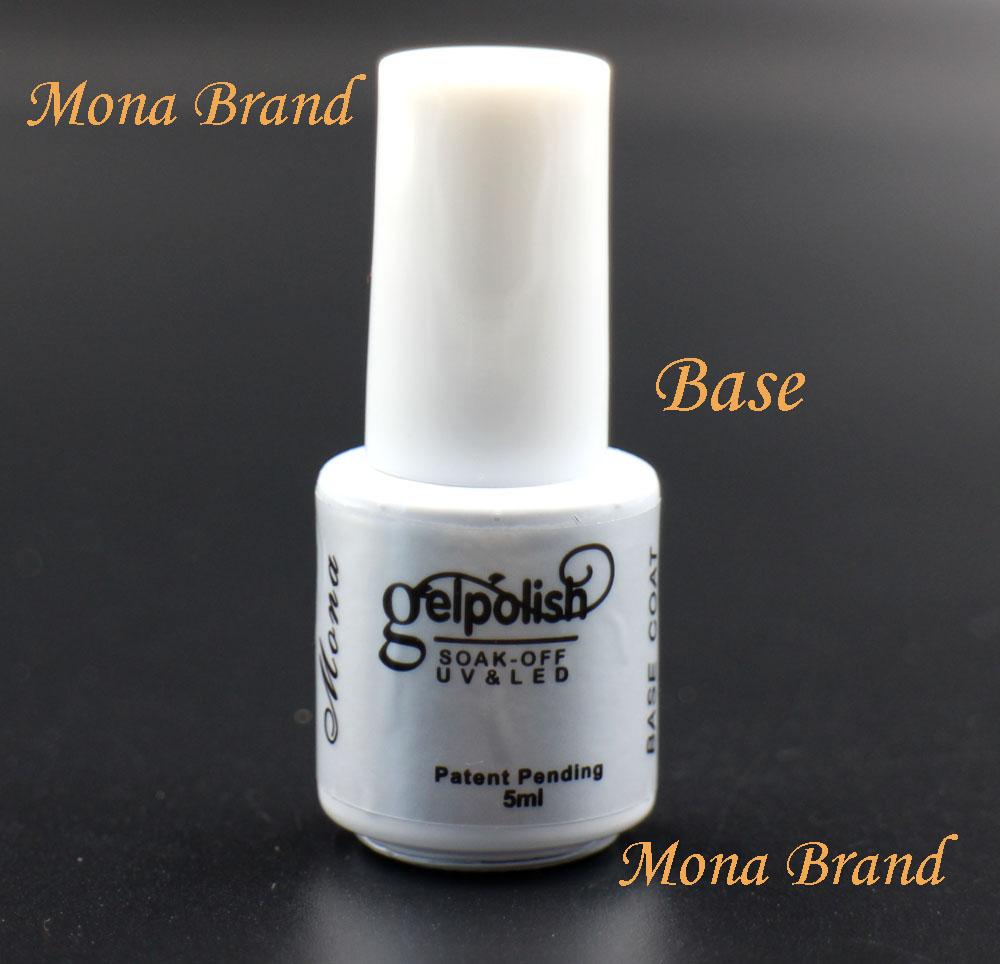 Mona Brand 5ml Base Gel Primer coat Secure Foundation For UV LED Gel Nail Polish Gorgeous Color Long Lasting Up To 30Days#A16805(China (Mainland))