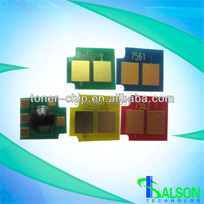 New Compatible office supply color chip resetter for hp laserjet mfp m680 toner cartridge chips(China (Mainland))