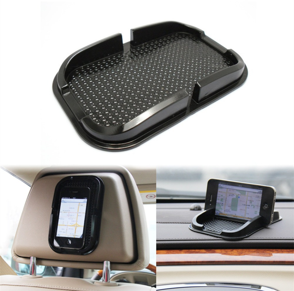 Rubber Anti-slip Mat Car Dashboard Non-slip Mat Magic Sticky Pad holder For Mobile Cell Phone Accessories GPS Mount Stick Holder(China (Mainland))