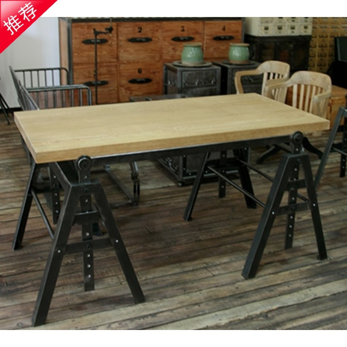 American industrial loft style retro furniture wrought