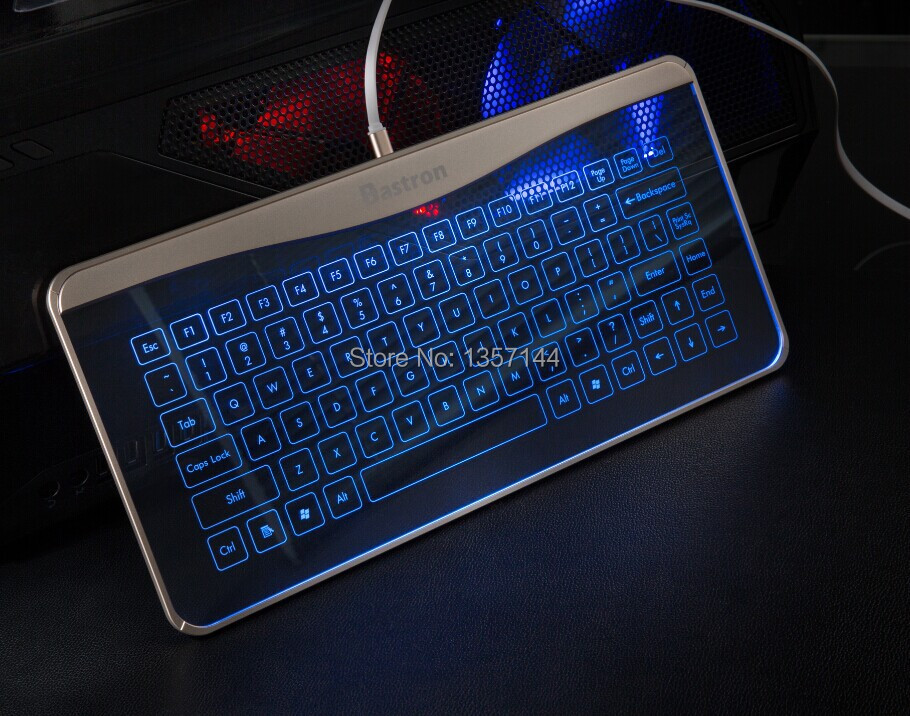 Bastron high tech smart touch keyboard with mouse function for Apple pc desktop computer-in