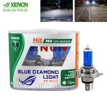 Buy XENCN H4 12V 60/55W 5300K Xenon Blue Diamond Car Light Bright UV Filter Halogen Super White Head Lamp Free for $19.90 in AliExpress store