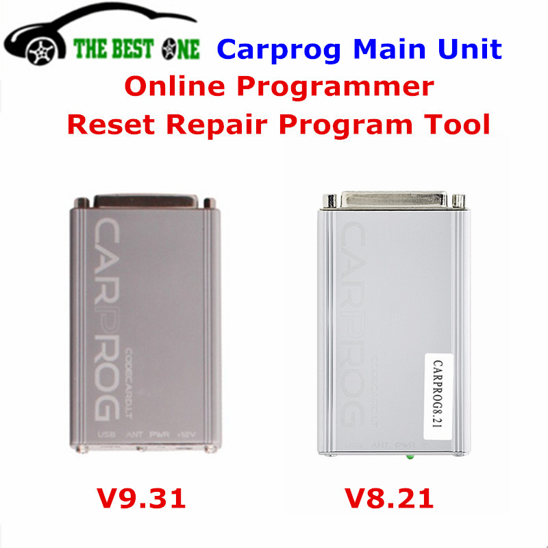 Best Carprog V9.31 Main Unit Auto Repair (radios,odometers,dashboards,immobilizers) ECU Chip Tuning Carprog 9.31 Car Prog V8.21(China (Mainland))
