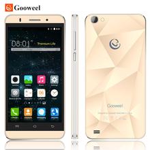 Original Gooweel M5 Pro mobile phone MTK6580 quad core 5 inch IPS screen smartphone 5MP/8MP camera GPS 3G cell phone Free Gift(China (Mainland))