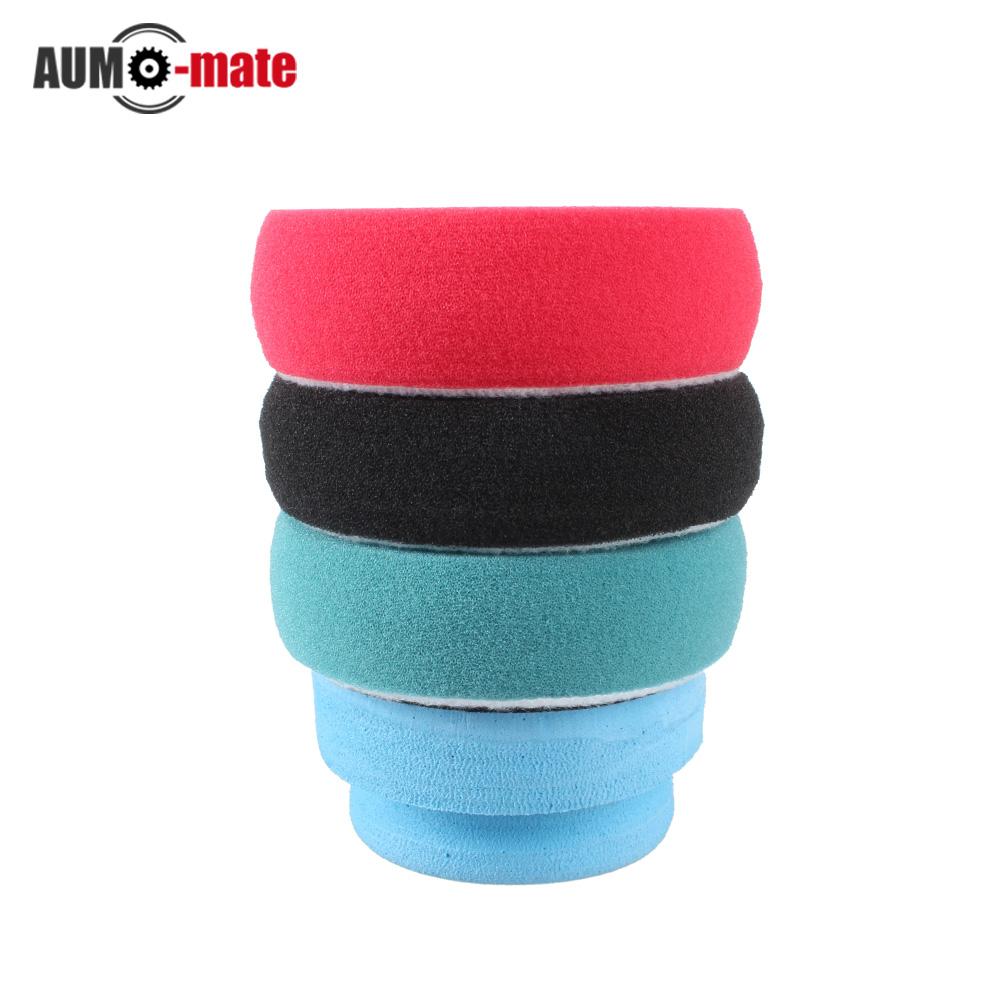 4pcs/set Soft Auto Car Waxing Sponge Buffing Pad Kit for Car Polishing Wax Wheel Car Accessories Tools