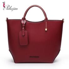 2017 New Designer Women Leather Handbags Fashion Vintage Messenger Women Bag Casual High Quatity Shoulder Bags Ladies