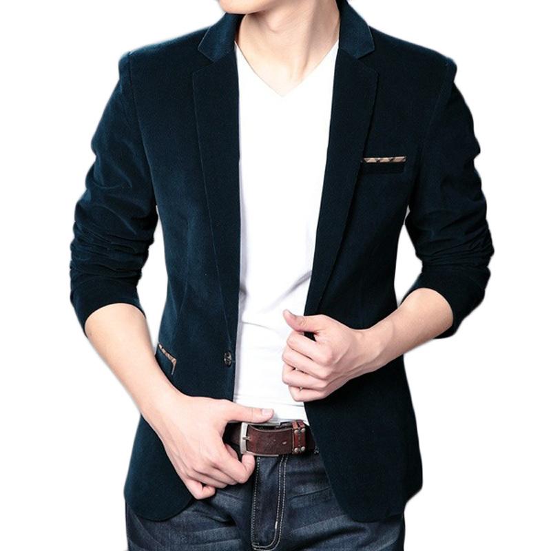 Male Suit Commercial Menu0026#39;s Plus Size Blazer Casual Slim Colombia Jacket Men Designer Blazers For ...