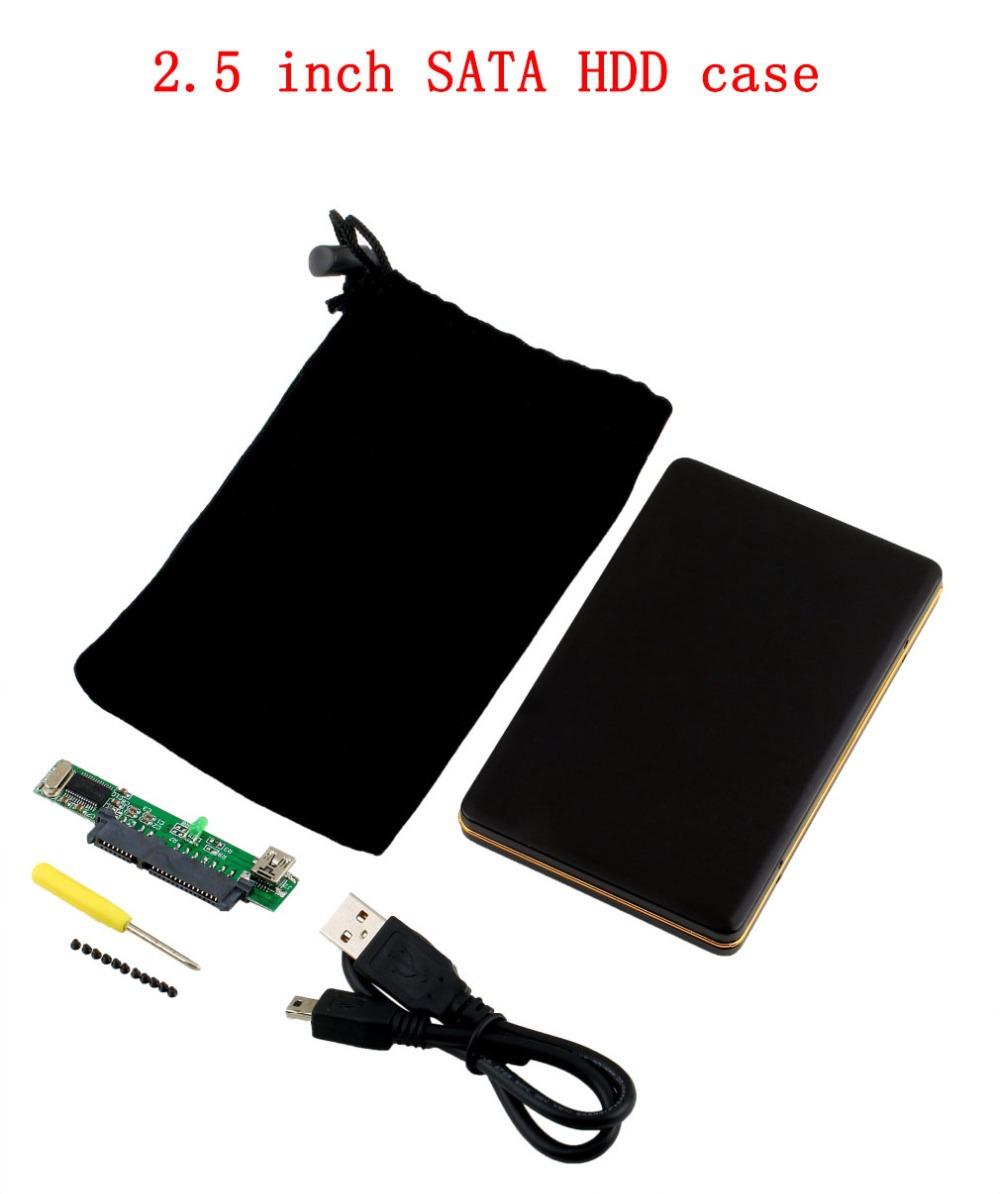 USB 2.0 2.5 inch SATA HDD Box HDD Hard Drive Disk SATA External Storage Enclosure Box Case Worldwide Store(China (Mainland))