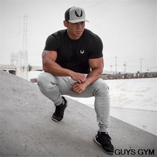 New Fashion Men Clothes Short Sleeve Slim Fit T Shirt Men Cotton T-Shirt Casual Aesthetic Revolution Gym Fitness Sports Muscle