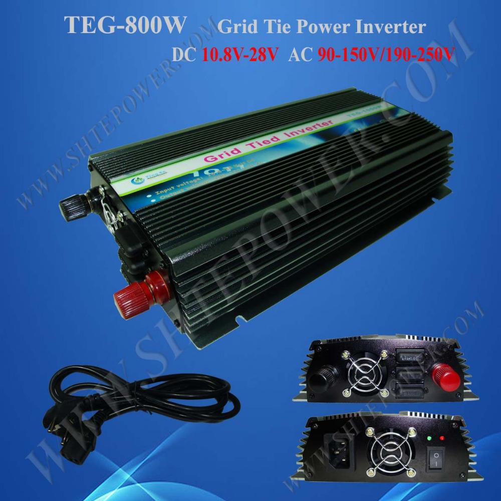 Micro grid tie inverter 800W, solar panel inverter, inverter 12v 220v 800W(China (Mainland))