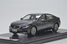 Rare Grey 2013 1/43 Mazda 6 Atenza Premiumx X Miniature Model Car Rare High Simulation Collection Mini Metal  Toys