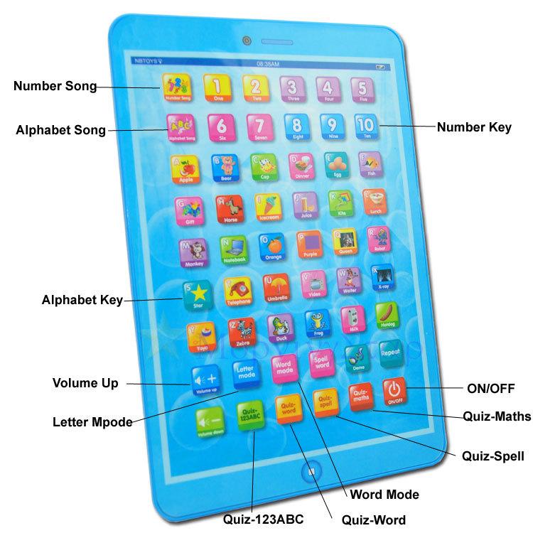 11Pcs/Lot 2013 New Arrival English Language Children Kids Learning Machine Educational Toys Plenty of stock Next day shipping