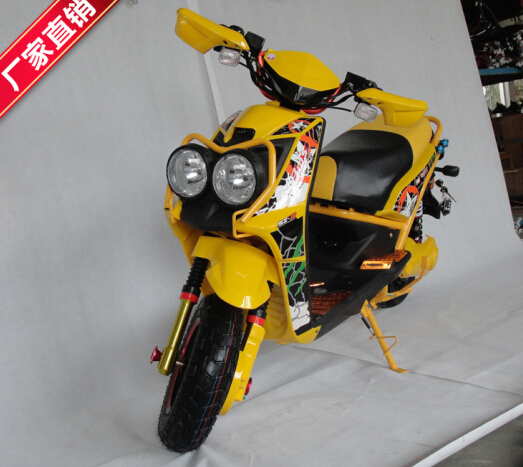 without pedal 48V Two Wheel 1000W electric battery powered motorcycle(EM-070)(China (Mainland))
