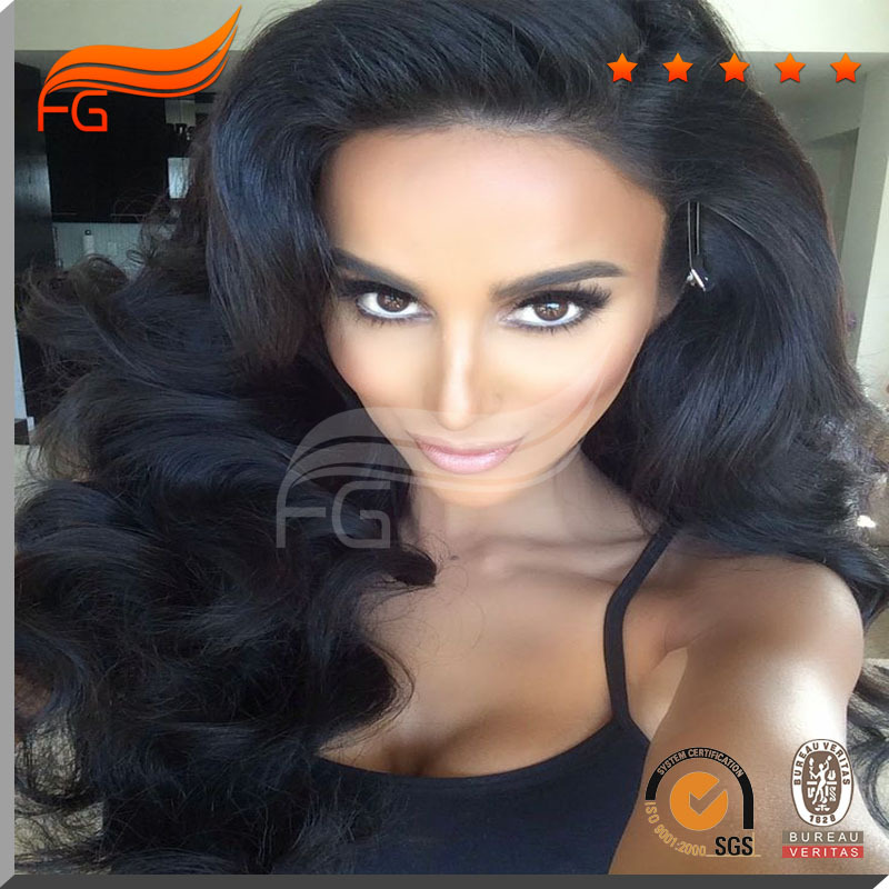 New virgin malaysian human hair body wave 180 density silk top full lace wig for black women free shipping<br><br>Aliexpress